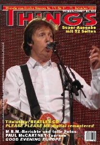 BEATLES: Fan-Magazin THINGS 170