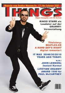 BEATLES: Fan-Magazin THINGS 172