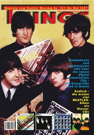 BEATLES: Fan-Magazin THINGS 161 Nachruck