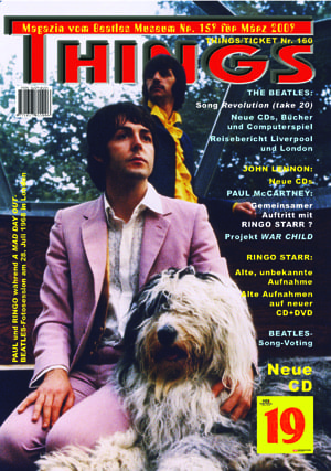 BEATLES: Fan-Magazin THINGS 159