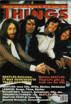 BEATLES: Fan-Magazin THINGS 157