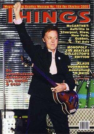 BEATLES: Fan-Magazin THINGS 154