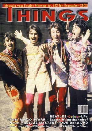 BEATLES: Fan-Magazin THINGS 153