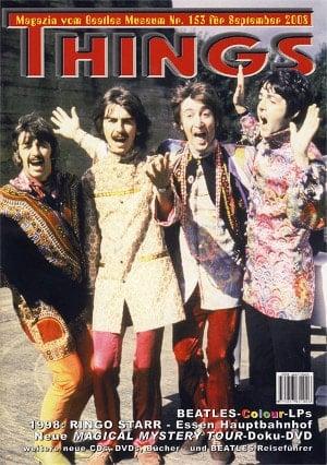 BEATLES: Fan-Magazin THINGS 153