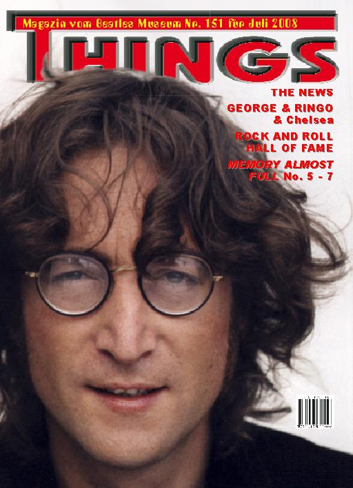 BEATLES: Fan-Magazin THINGS 151