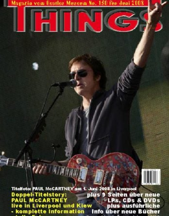 BEATLES: Fan-Magazin THINGS 150