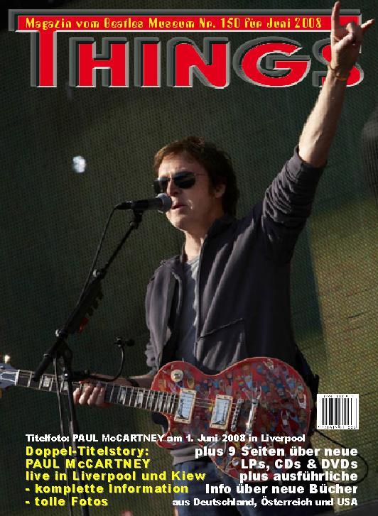 BEATLES: Fan-Magazin THINGS 150