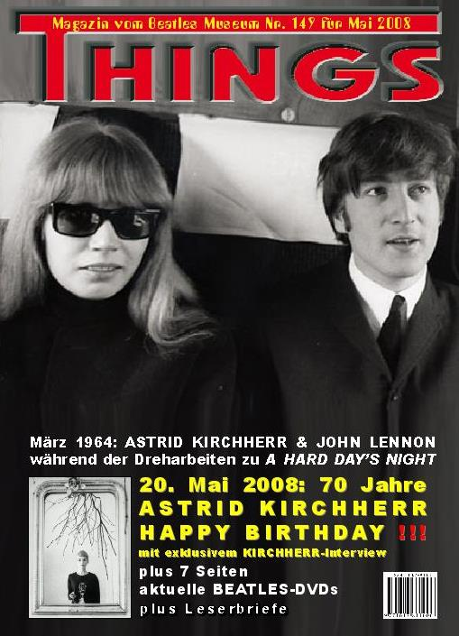 BEATLES: Fan-Magazin THINGS 149