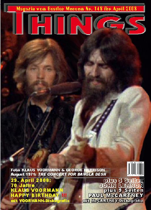 BEATLES: Fan-Magazin THINGS 148