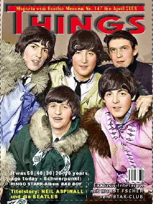 BEATLES: Fan-Magazin THINGS 147