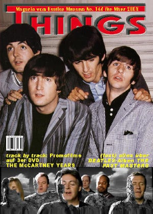BEATLES: Fan-Magazin THINGS 146