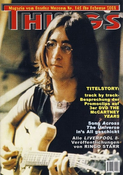 BEATLES: Fan-Magazin THINGS 145