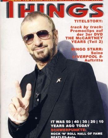 BEATLES: Fan-Magazin THINGS 144