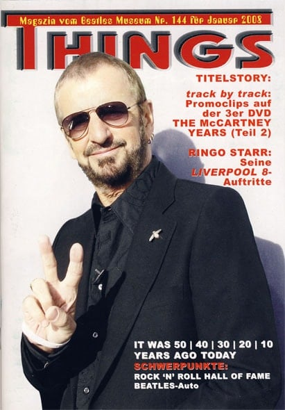 BEATLES: Fan-Magazin THINGS 144