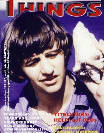 BEATLES: Fan-Magazin THINGS 141