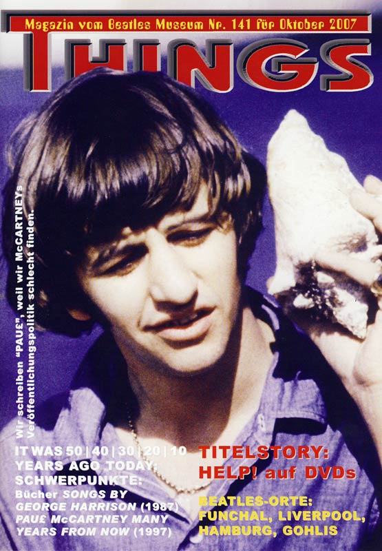 BEATLES: Fan-Magazin THINGS 141