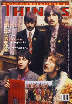 BEATLES: Fan-Magazin THINGS 139