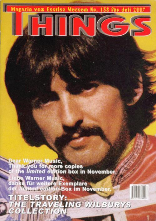 BEATLES: Fan-Magazin THINGS 138
