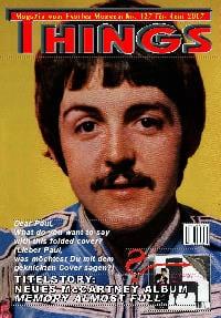 BEATLES: Fan-Magazin THINGS 137