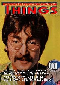 BEATLES: Fan-Magazin THINGS 136