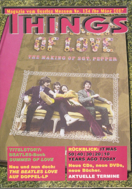 BEATLES: Fan-Magazin THINGS 134