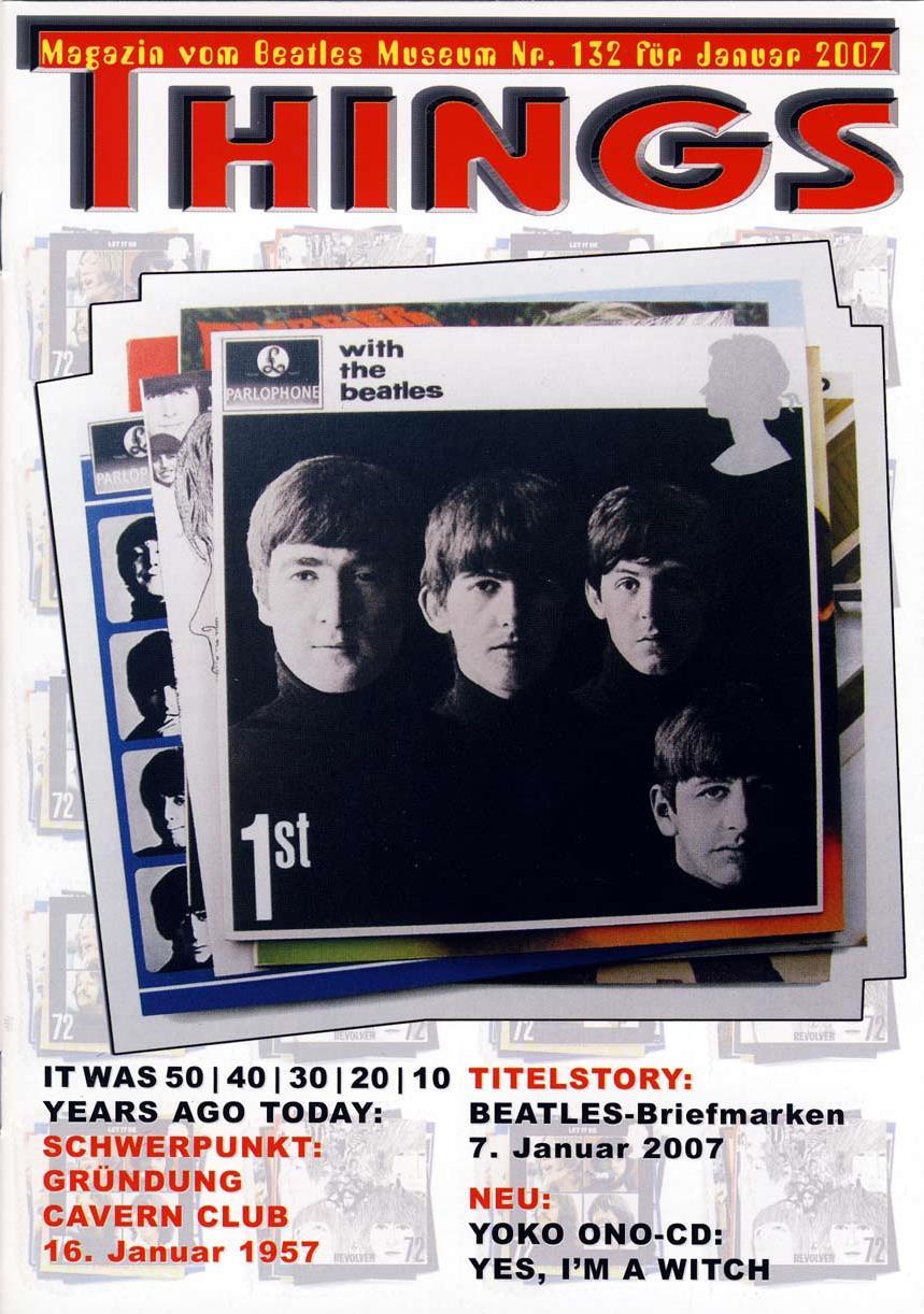 BEATLES: Fan-Magazin THINGS 132