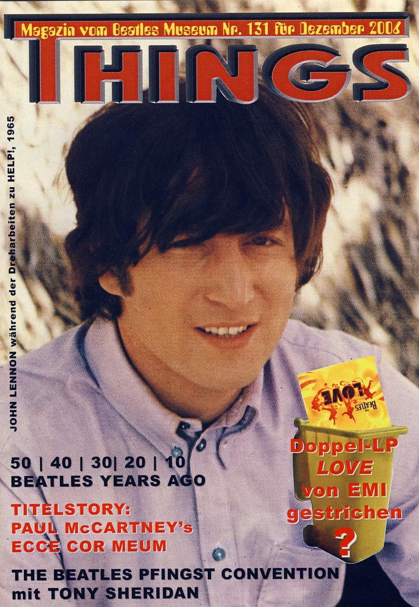 BEATLES: Fan-Magazin THINGS 131