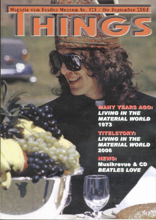 BEATLES: Fan-Magazin THINGS 128