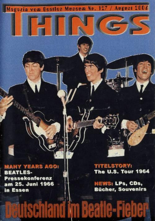 BEATLES: Fan-Magazin THINGS 127