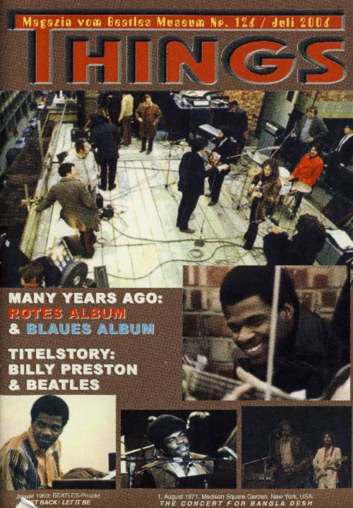 BEATLES: Fan-Magazin THINGS 126