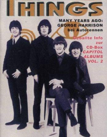 BEATLES: Fan-Magazin THINGS 124