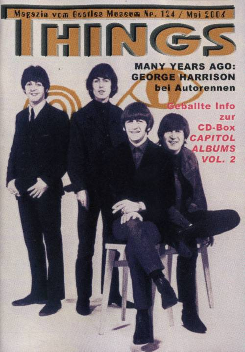 BEATLES: Fan-Magazin THINGS 124