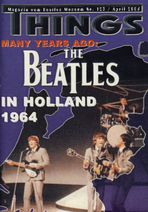 BEATLES: Fan-Magazin THINGS 123