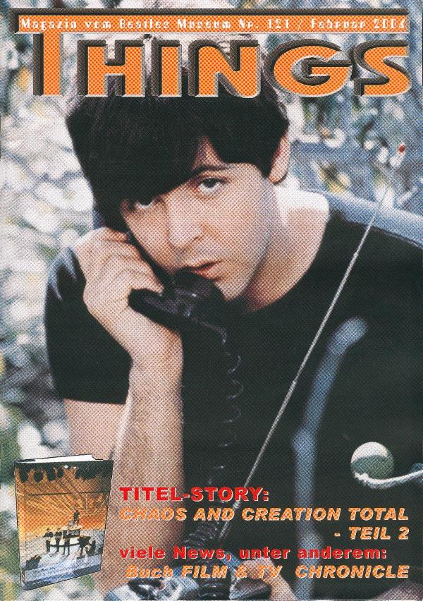 BEATLES: Fan-Magazin THINGS 121