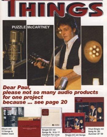 BEATLES: Fan-Magazin THINGS 120