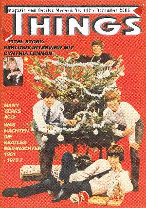 BEATLES: Fan-Magazin THINGS 119