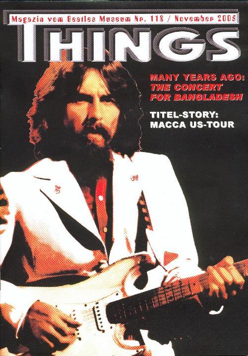 BEATLES: Fan-Magazin THINGS 118