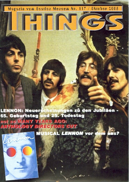 BEATLES: Fan-Magazin THINGS 117