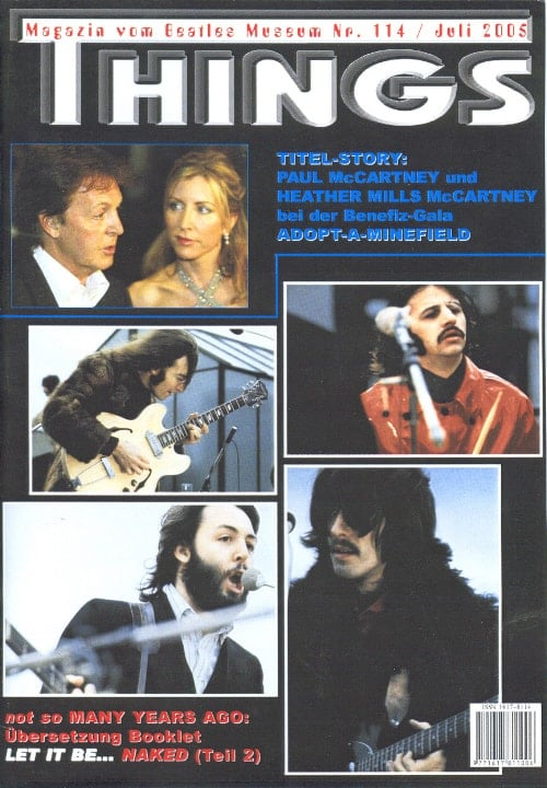 BEATLES: Fan-Magazin THINGS 114