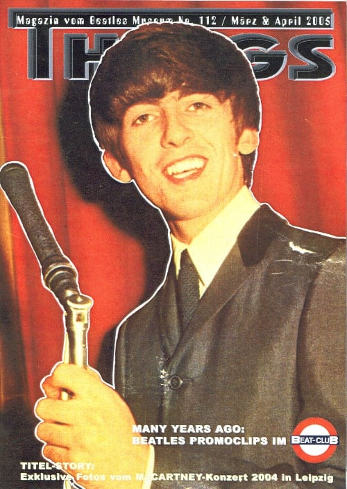 BEATLES: Fan-Magazin THINGS 112