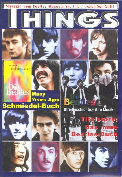 BEATLES: Fan-Magazin THINGS 110