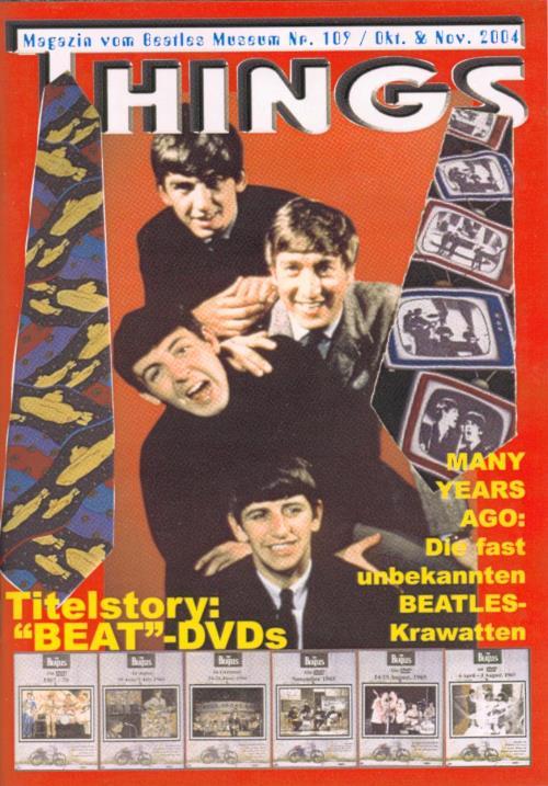BEATLES: Fan-Magazin THINGS 109