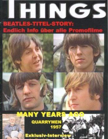 BEATLES: Fan-Magazin THINGS 108
