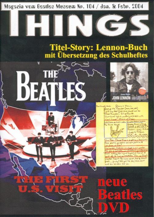 BEATLES: Fan-Magazin THINGS 104