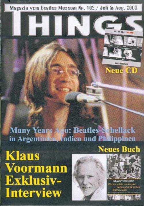 BEATLES: Fan-Magazin THINGS 102