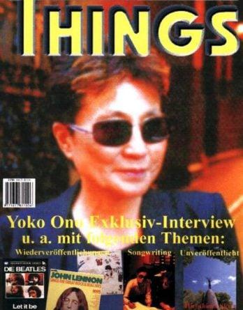 BEATLES: Fan-Magazin THINGS 100