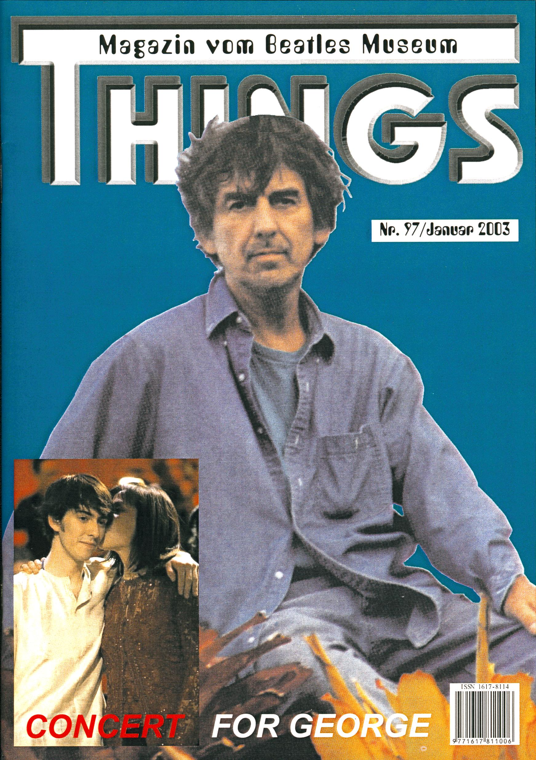 BEATLES: Fan-Magazin THINGS 97