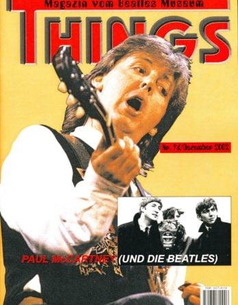 BEATLES: Fan-Magazin THINGS 96