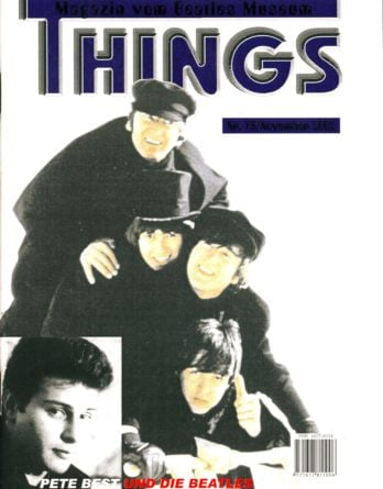 BEATLES: Fan-Magazin THINGS 95