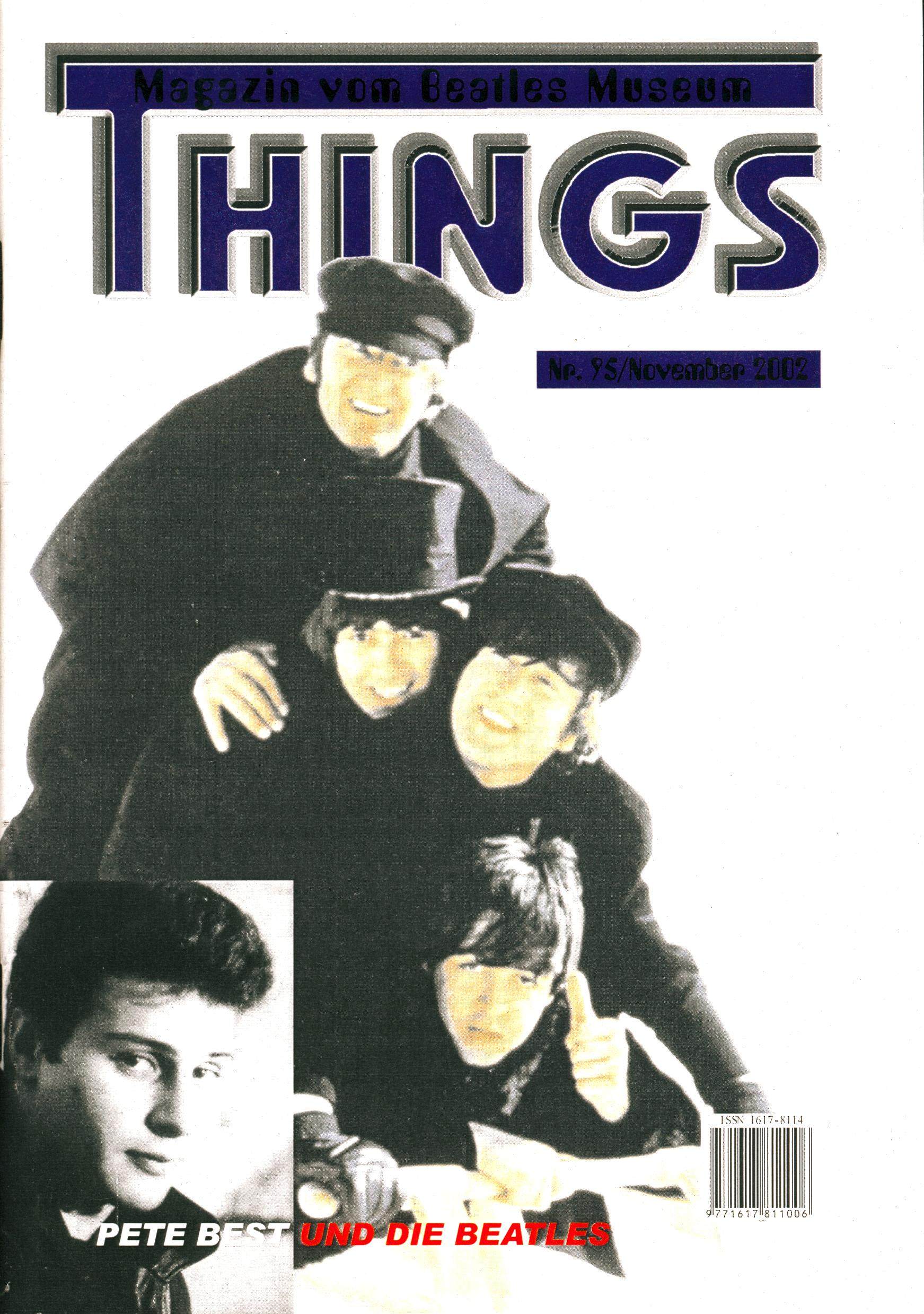 BEATLES: Fan-Magazin THINGS 95